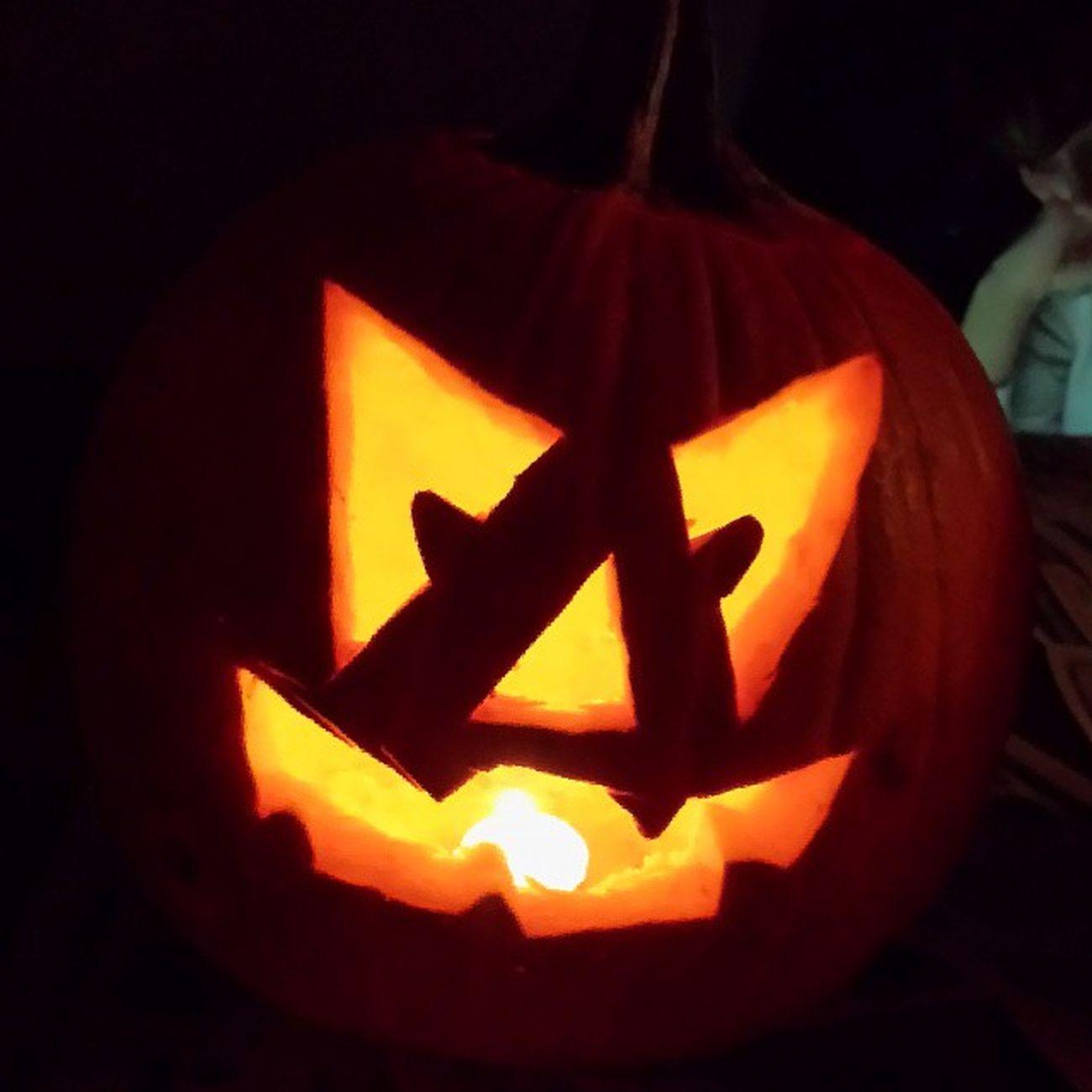 Happy Halloween! Halloween Scarypumkin Talentedcarving Spooky Boo Halloween2013 Halloweennight Trickortreat