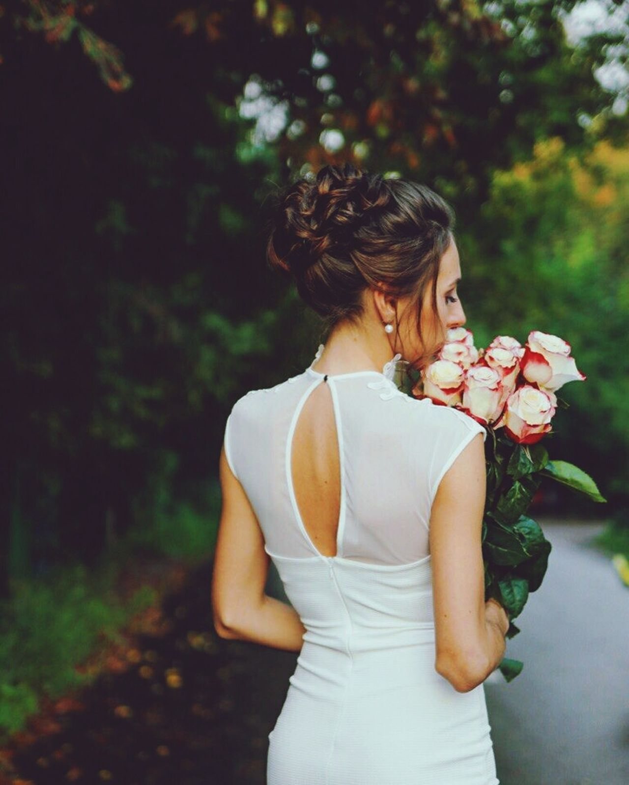 Hair stylist Irina Tishkova🙂 Flower Hairstylist Beauty Bride Hairstyle Wedding One Woman Only Forest One Person Females Curly Hair Wedding Dress