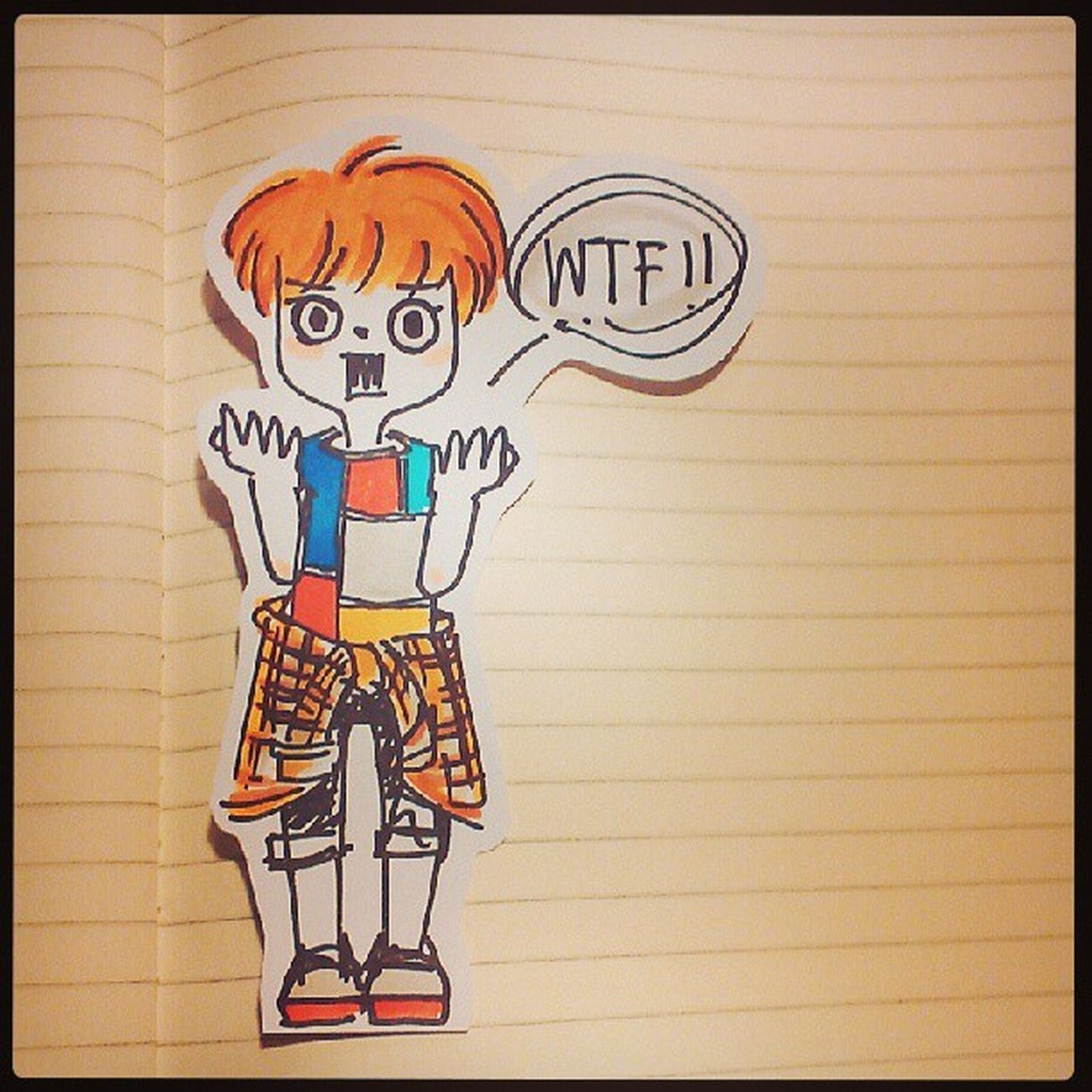 WTF! วาดไว้นานแล้วหละ ; P Art, Drawing, Creativity Illustation Illus Hand Made