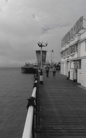 Pier Built Structure Sea Summer Water