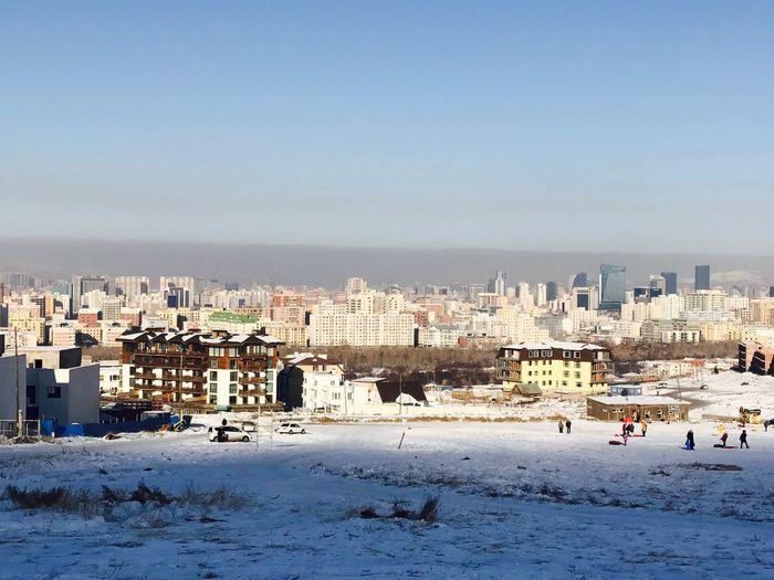 Smogcity Ulaanbaatar IPhoneography