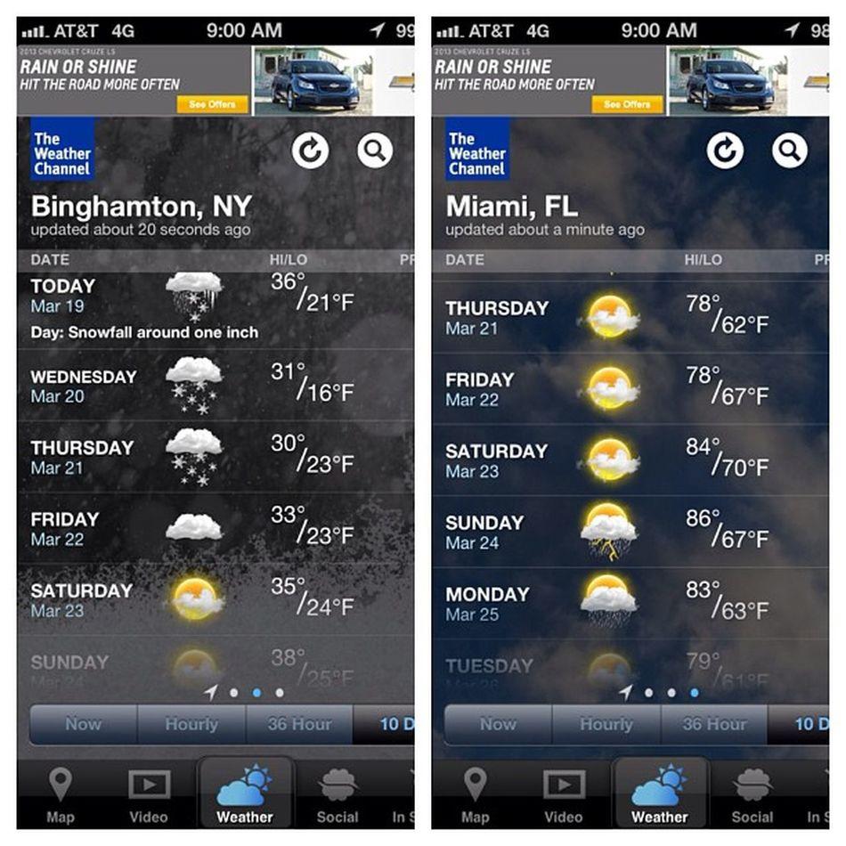 Ill take it. I'm outta this winter wonderland tomorrow. Miami Ultra Ferrarirental