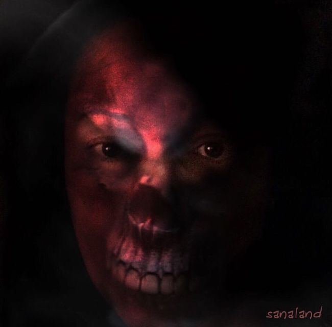 We are shaped by ate thoughts. We become what we think. Horror Darkart Journey Into The Dark