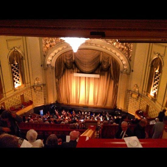 My first opera! #Rigoletto Rigoletto