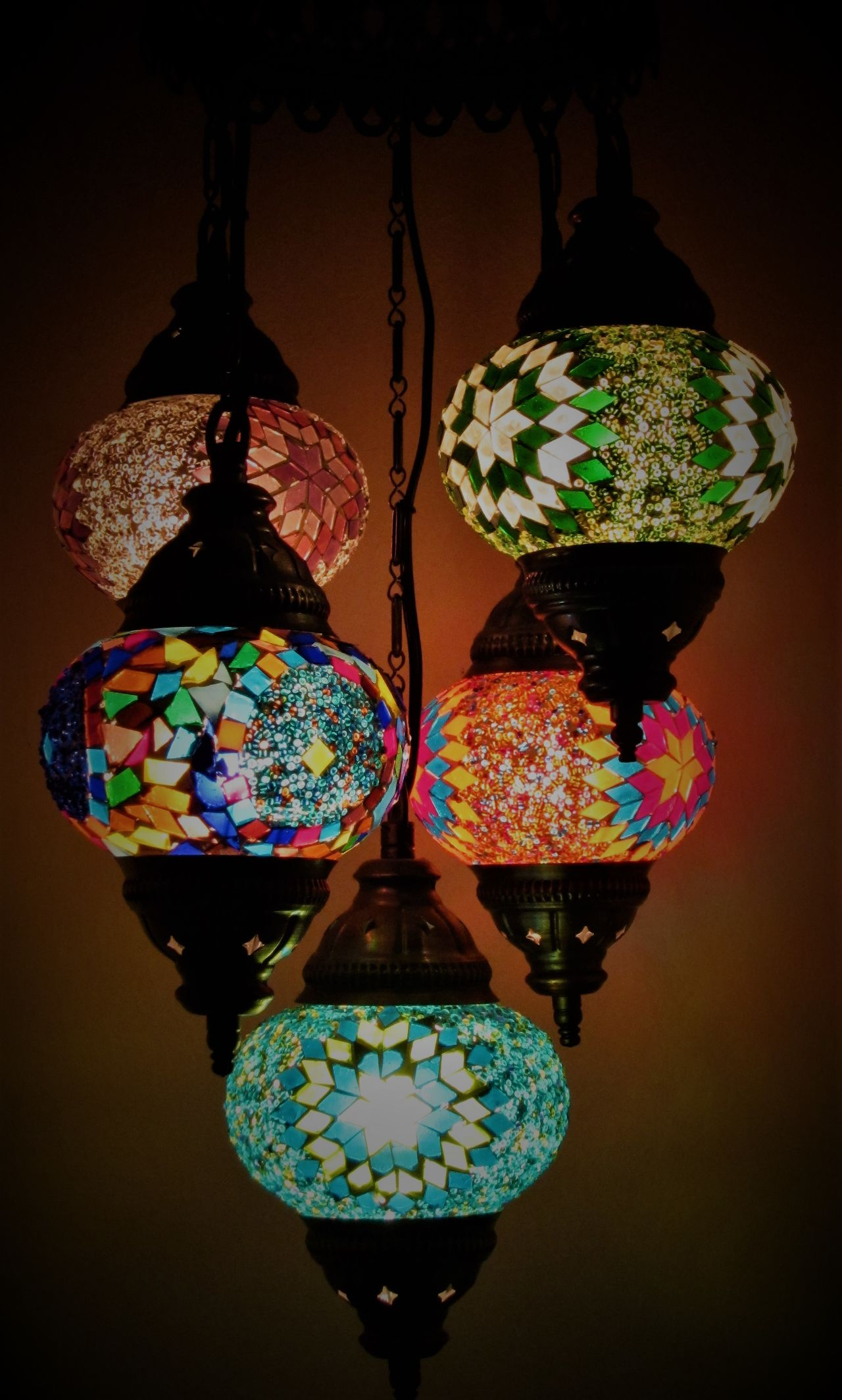 Turkish Lanterns Beauty Black Background Fashion Glass Art Hanging Lamp Lamps Lampshade Lanterns Lanterns In The Dark Multi Colored Multi Coloured No People Stained Glass Turkish Turkish Lamps Turkish Style  Variation