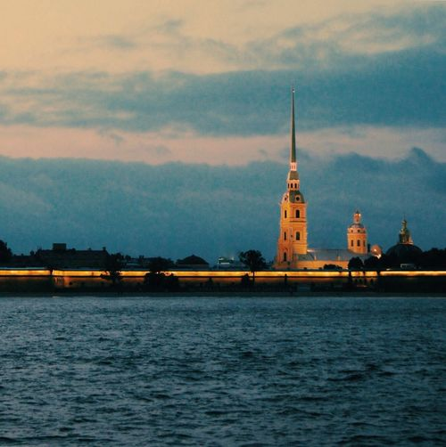 Peter and Paul fortress Waterfront Architecture Petersburg Stpetersburg Peterandpaulfortress Religion Water River Tourism Cloud - Sky