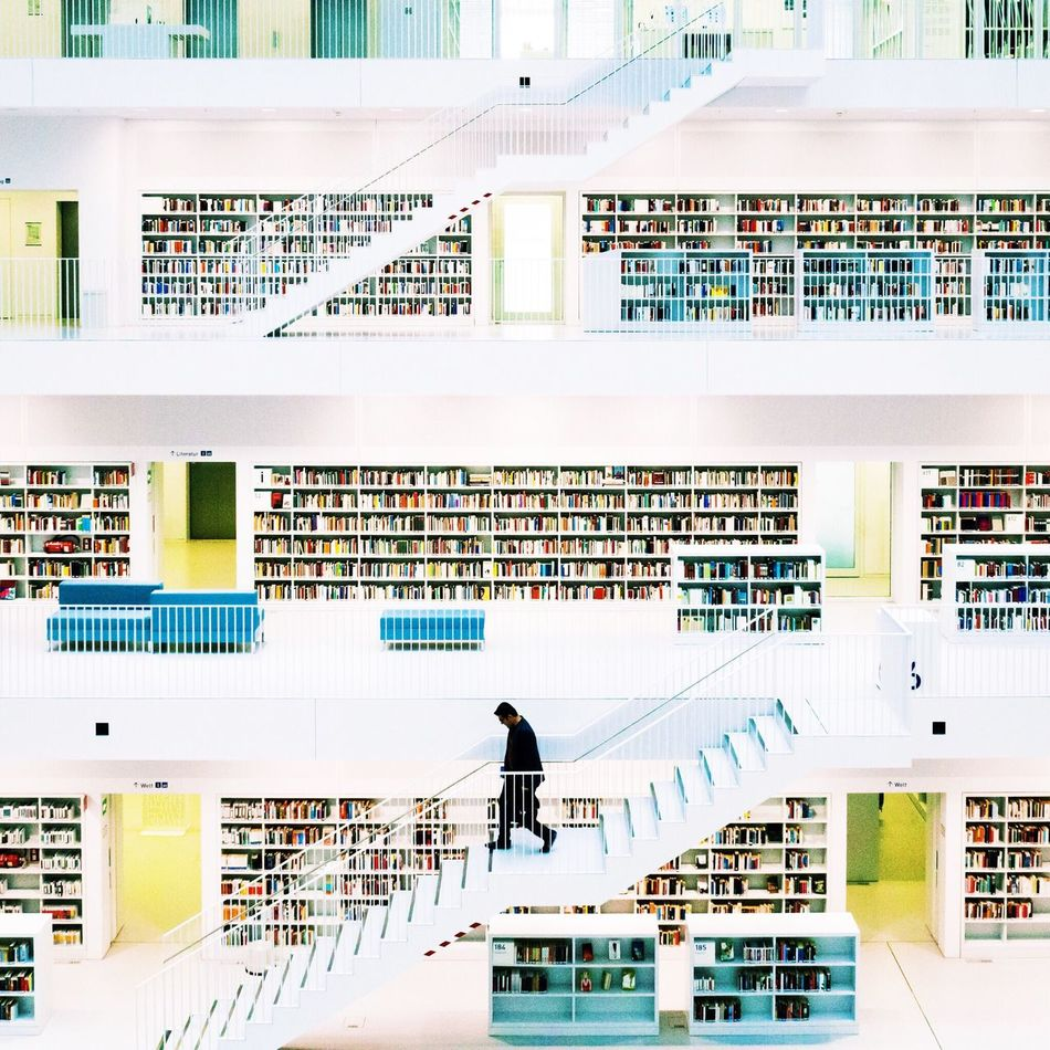 City Sebastianriegerphotos Streetphotography Colors Minimalism Amazing 2016 People Architecture EyeEm Best Shots Urban Geometry Stuttgart Library
