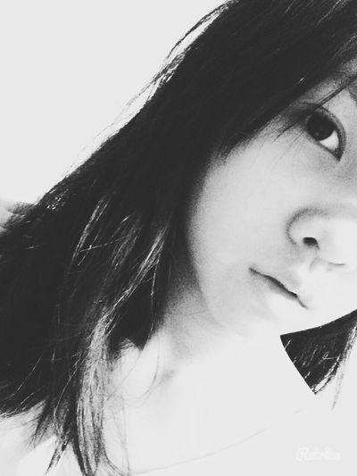 Blackandwhite Black & White Hello World HelloEyeEm Faces Of EyeEm Sad Face Love ♥ Sadgirl Hello Everybody <3 Princess👸