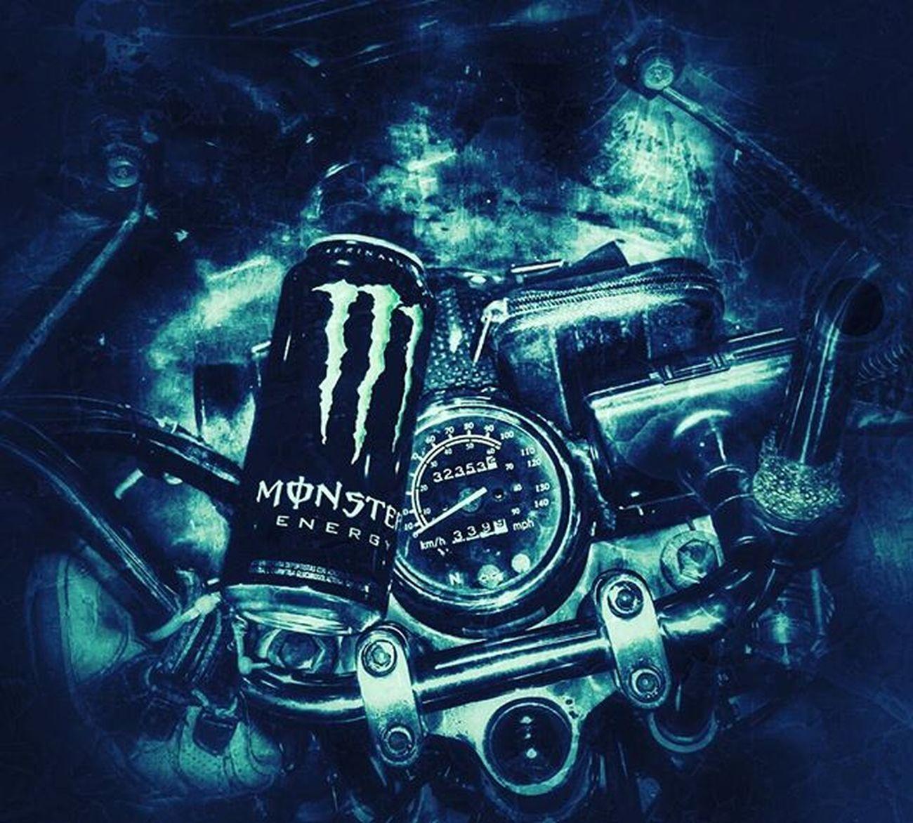 Monster torque ! Monster S5 Snapseed Instachile Momentos Effect HDR Vintage Biker Monsterbikerd