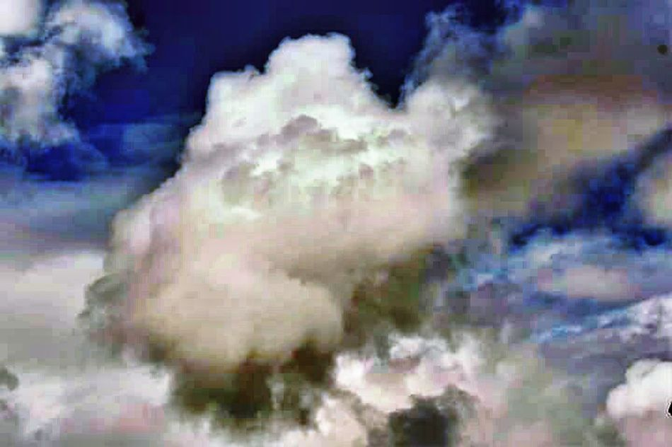 Abstract Cloud - Sky Backgrounds Full Frame No People Sky Painted Image Outdoors Pixelated Day