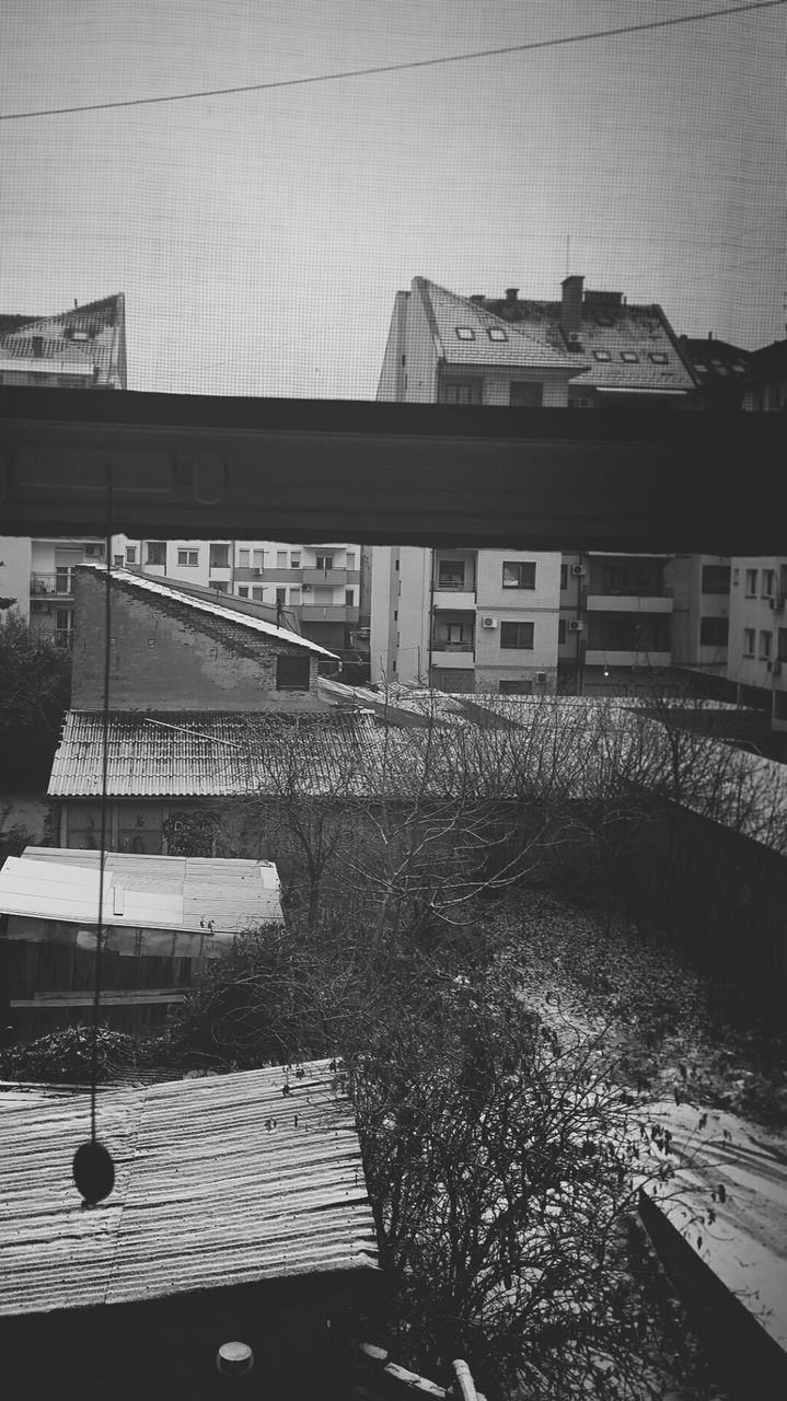 architecture, built structure, building exterior, bridge - man made structure, connection, river, day, outdoors, transportation, no people, roof, city, sky, nature, water, tree