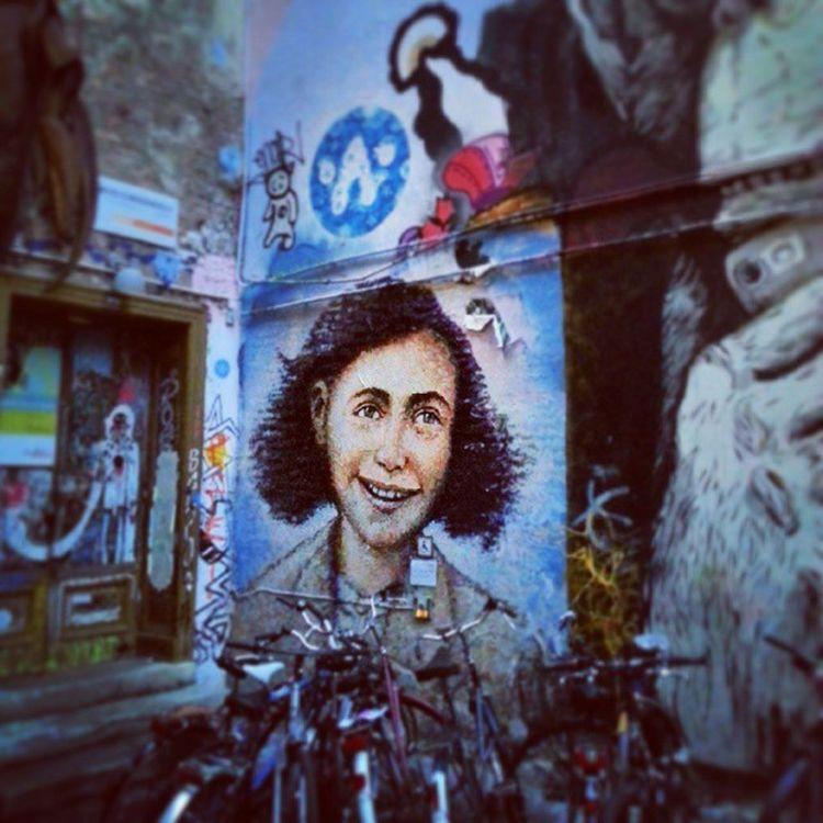 Berlin Streetart StreetGrafitti Annefrank