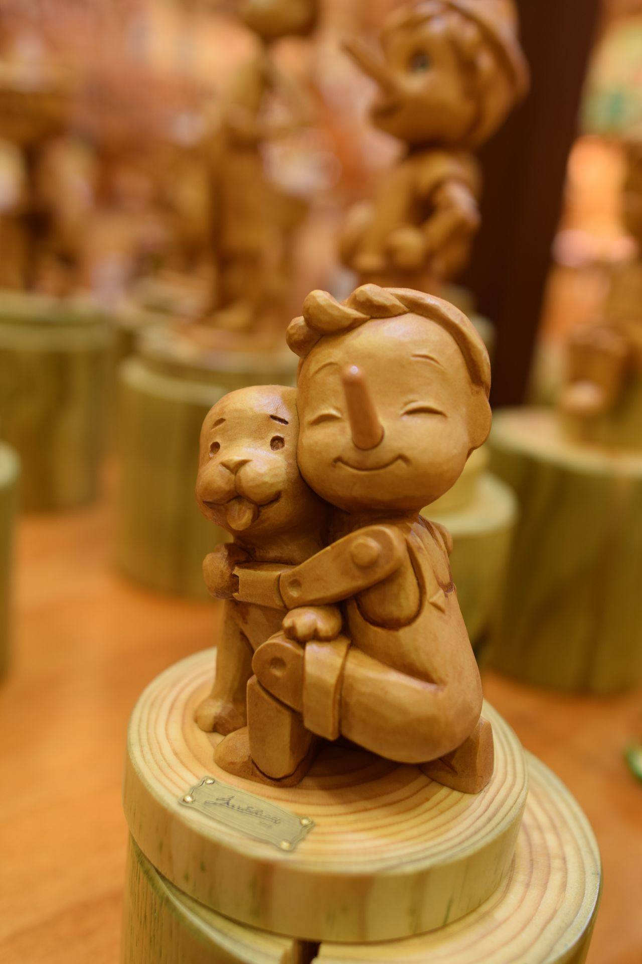 Statue Art And Craft Sculpture Indoors  Focus On Foreground Close-up No People Spirituality Religion Idol Day Florence Italy EyeEm New Here Pinochio