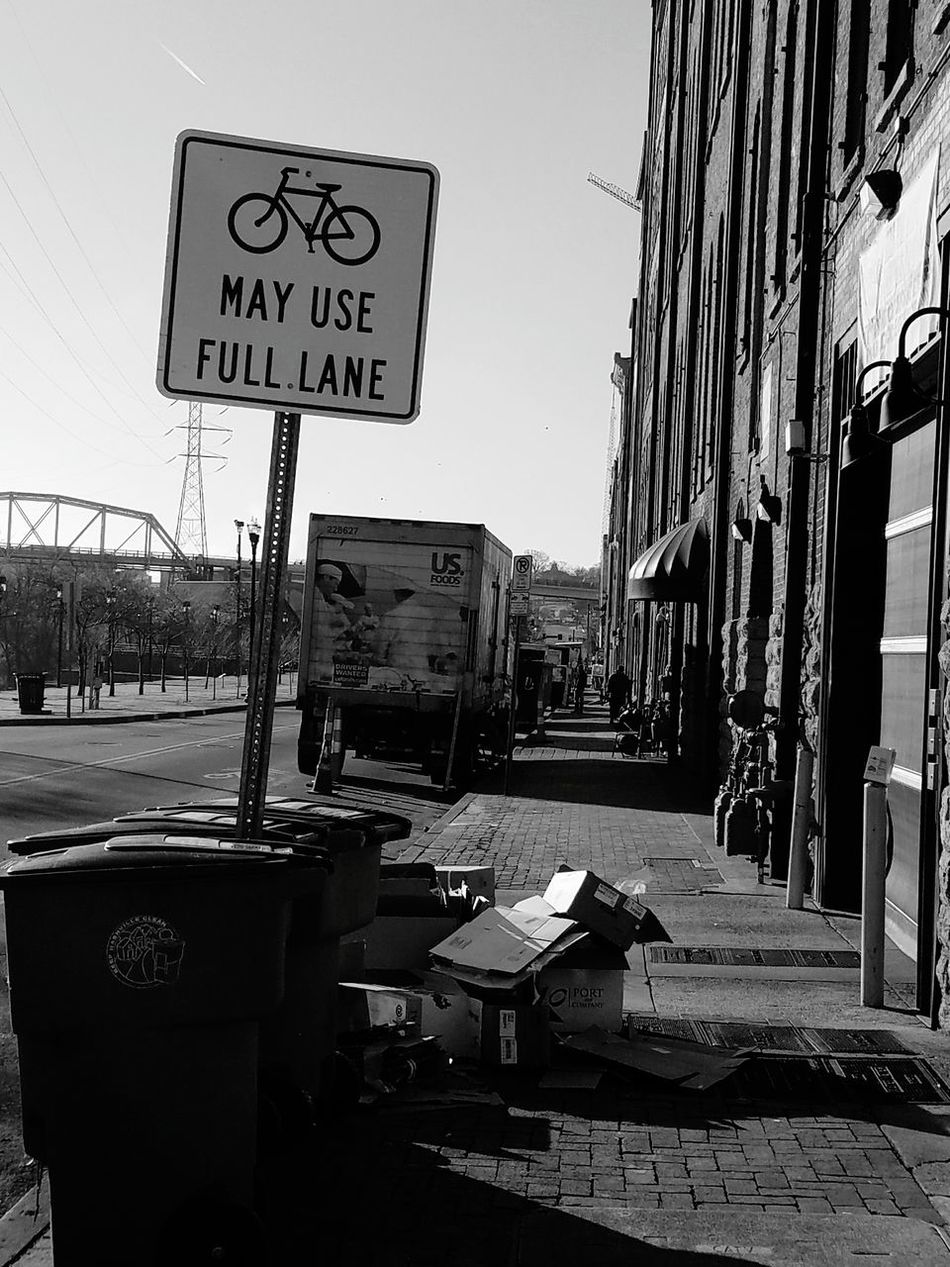 Road Sign Outdoors No People City Day Phonetography Mobile Conversations Downtown District Or Not