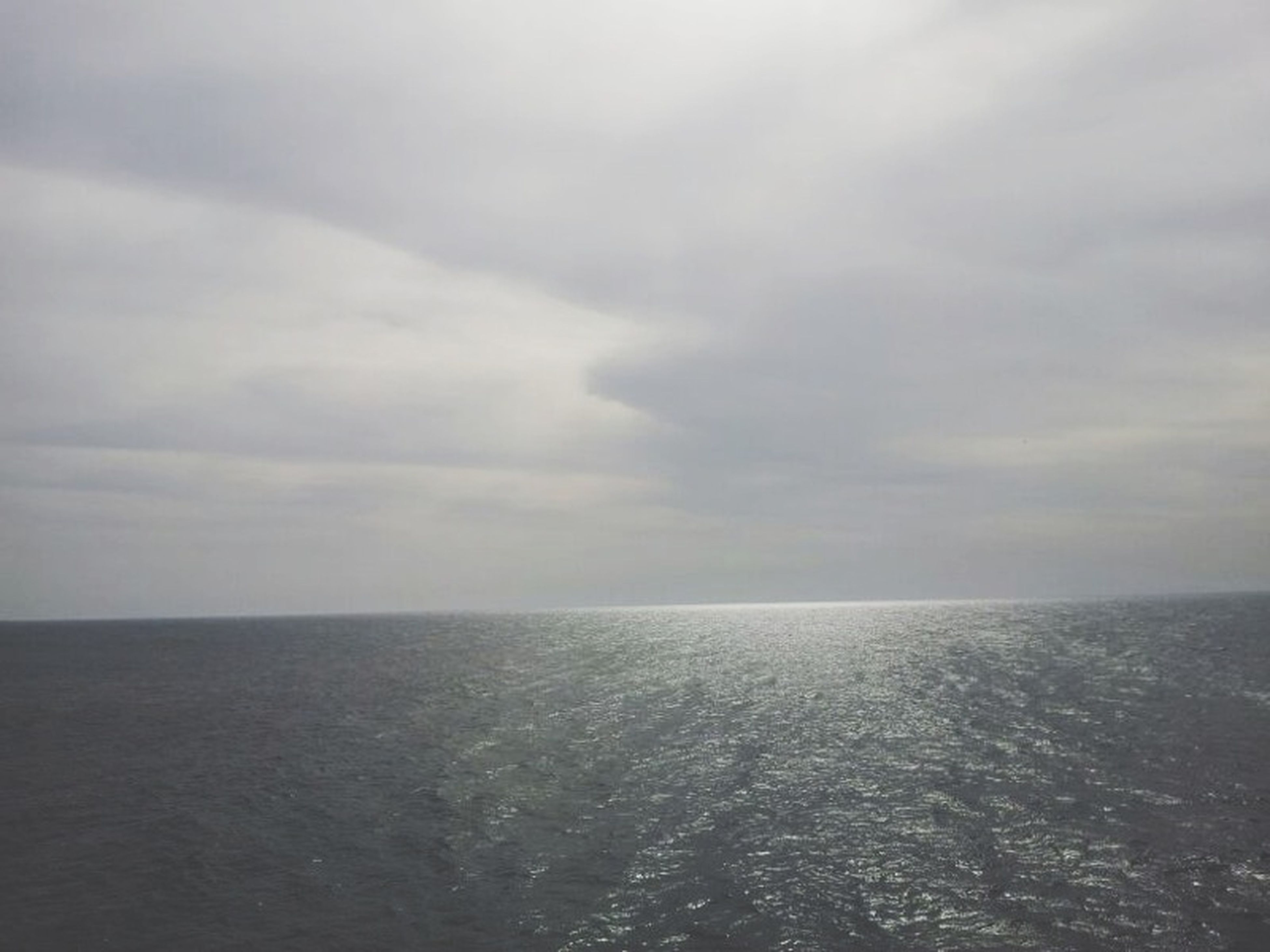sea, water, horizon over water, sky, tranquil scene, scenics, tranquility, beauty in nature, waterfront, cloud - sky, nature, cloudy, idyllic, seascape, cloud, weather, overcast, rippled, outdoors, no people