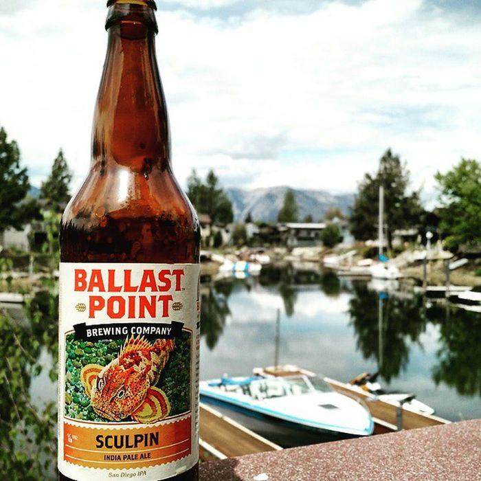 Tastes like a straight up orange peel but I like it. Laketahoe BallastPoint Orangepeel