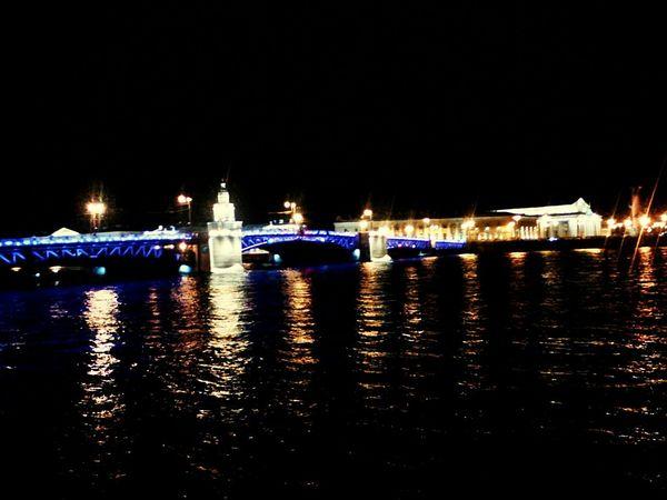 Как же там красиво ночью:3. Night River Architecture City First Eyeem Photo St. Petersburg Дворцовый мост