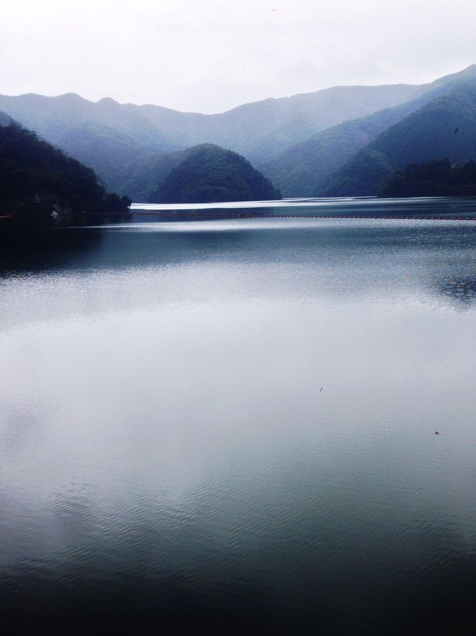 奥多摩湖 Lakeokutama Lake Fog