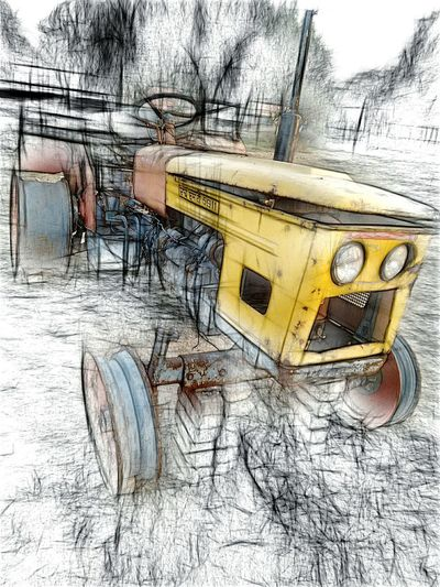Condemned Vehicle Pencilart