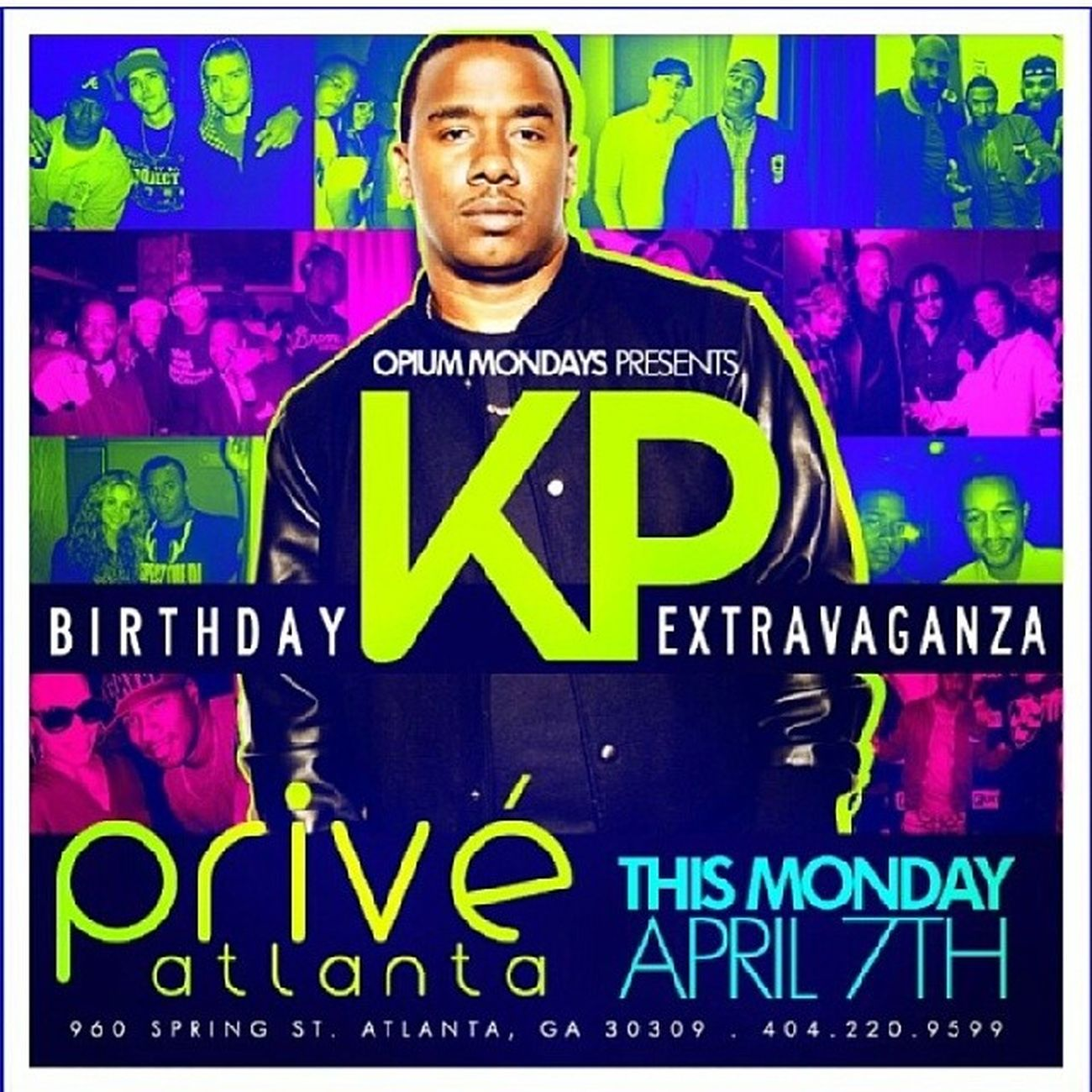 I came up Watching this guy take any situation and stay on top A&R DUNGEONFAMILY 1stGen !!!! Tonight after the GAME Prive !!! Shouts to @kawanprather @bigpat_basementent @basemententatl @certifieddeshad !!!!