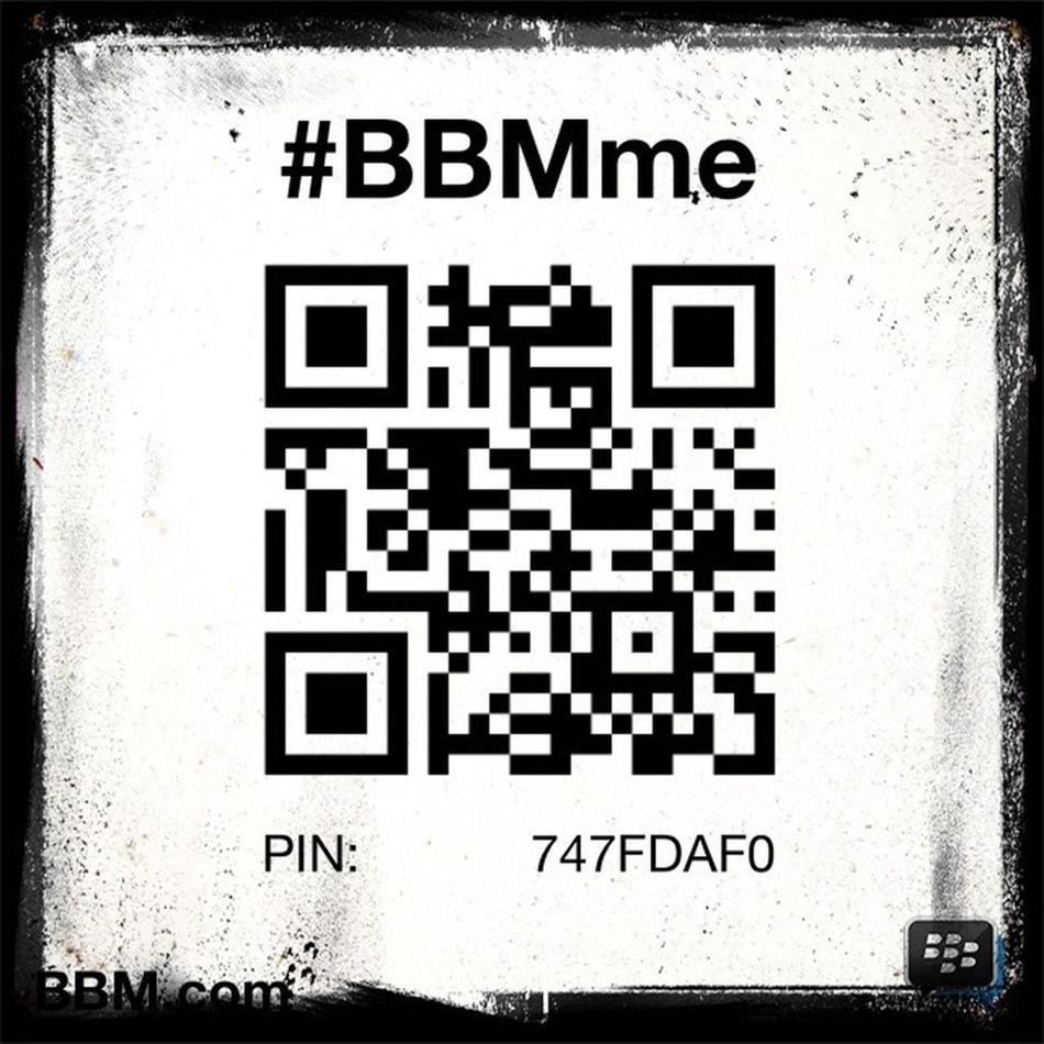 My Bbm account and the Bbmpin for BBM4ALL and Bbm Android