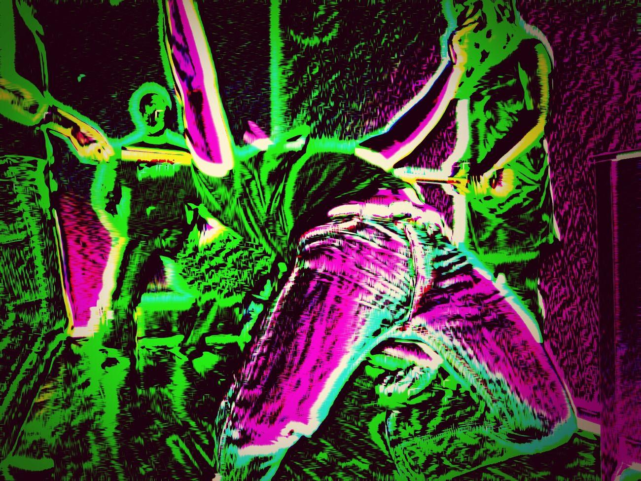 Limbo Tanzen Moment