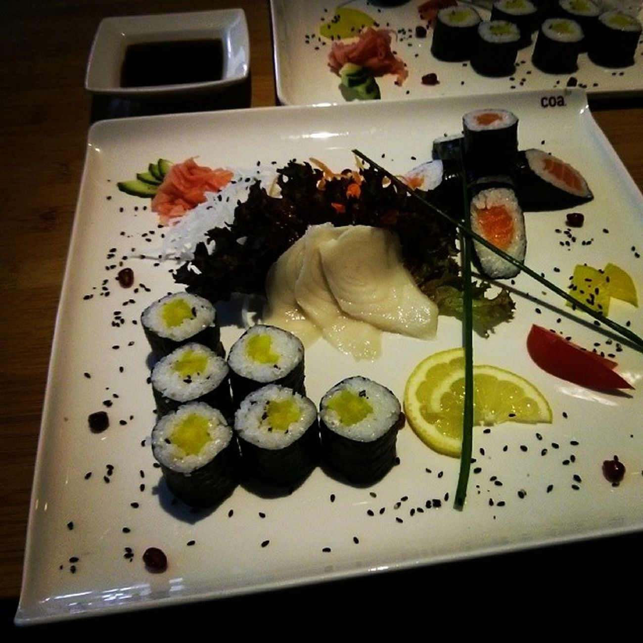 Worklunch Lunch Sushi Coa prague praha yummy