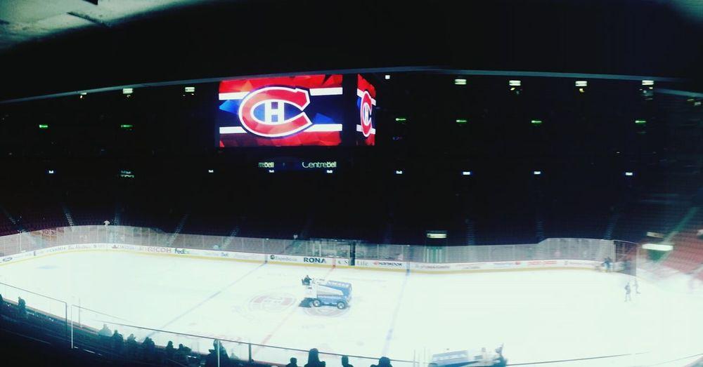 Bell center Hockey Game Montreal Montréal Vancouver Habs Canucks Endofgame