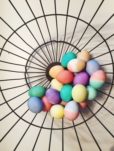 Don't put all your eggs in one basket EyeEm Gallery Easter Eggs Easter Easter Basket  Antique Egg Basket Colors Multi Colored Food Farm To Table No People Still Life Easter Ready Pastel Colors