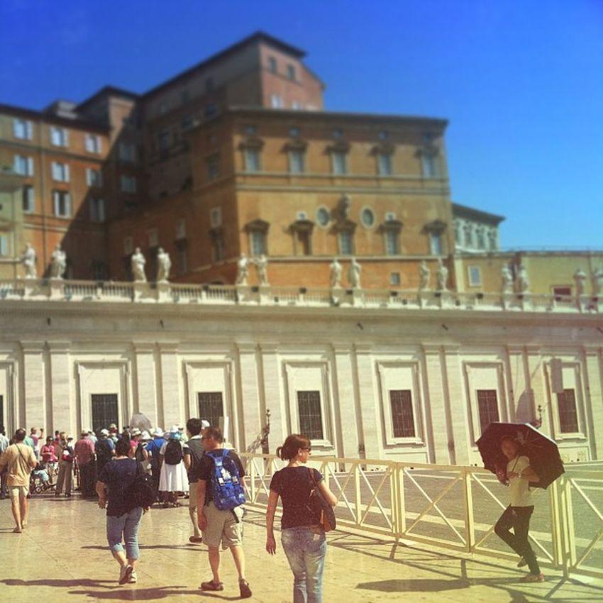 Basilica St Saint Pietro peter vatican vaticano city piazza rome italy instapic Instagram