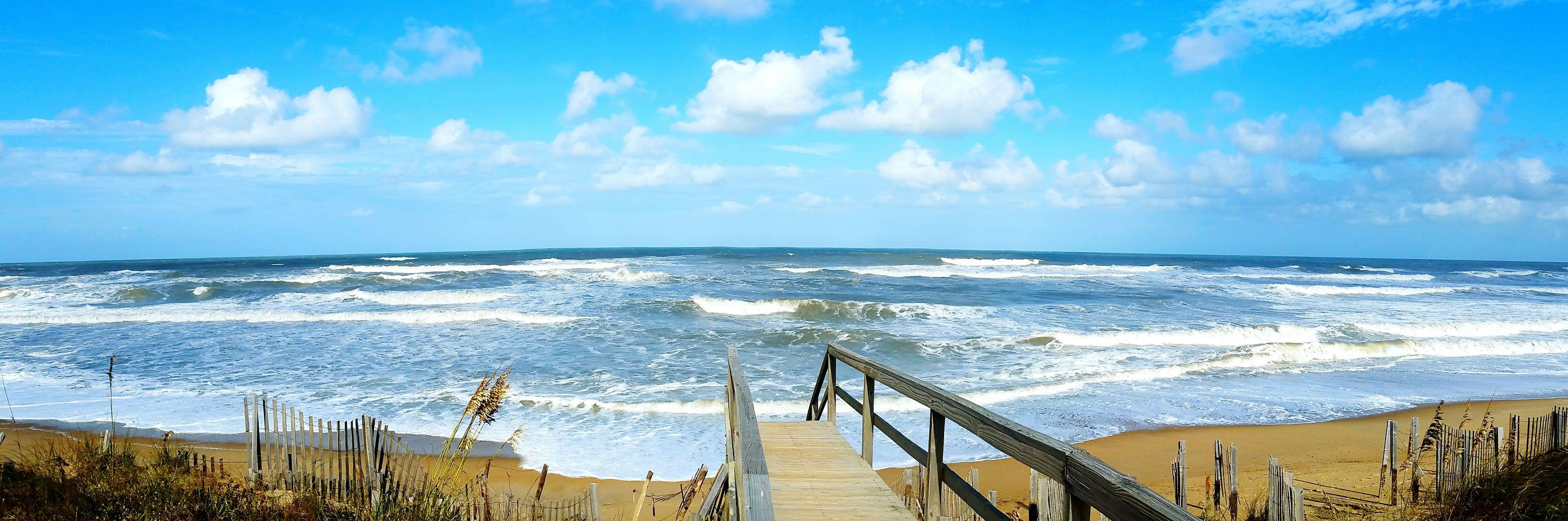 Beach Ocean Panaroma Southern Shores OBX