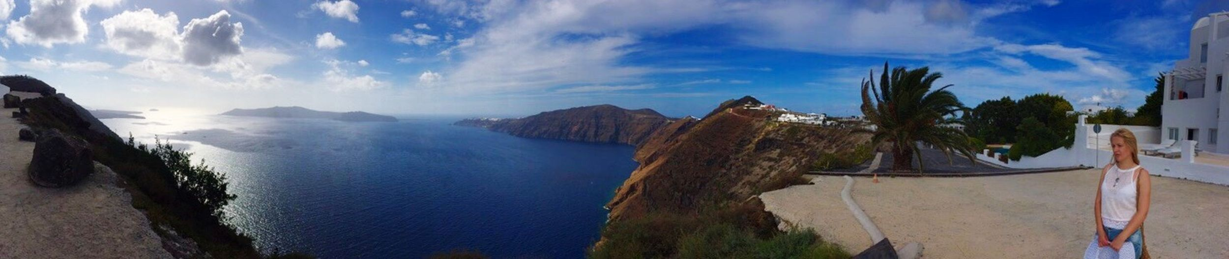 Santorini Greece Traveling From Santorini With Love Beautiful Surroundings Panoramas Panoramas Of Santorini