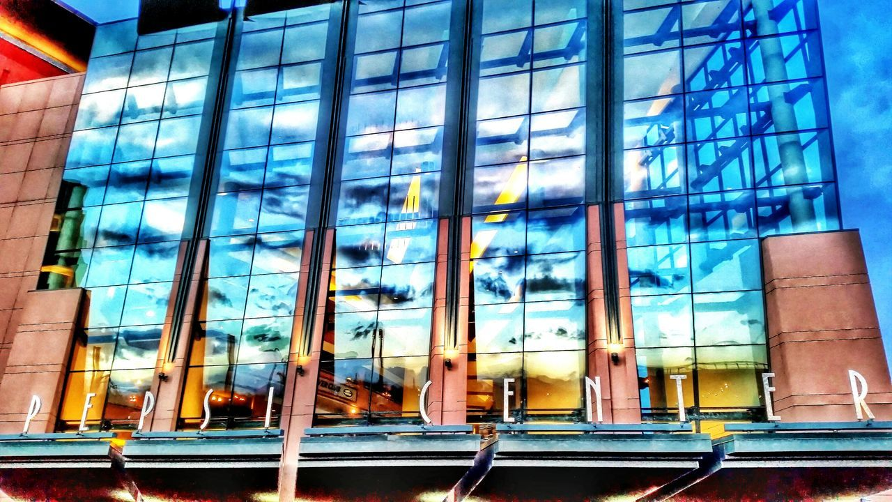Pepsi Arena Concert Architecture Reflections Clouds Pepsicenter Sunset Colorado Clouds And Sky Evening Sky