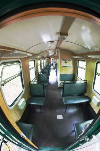 Day Indoors  Mode Of Transport Old Fashioned Public Transportation Rasender Roland  Train - Vehicle Train Compartment Transportation Vehicle Seat