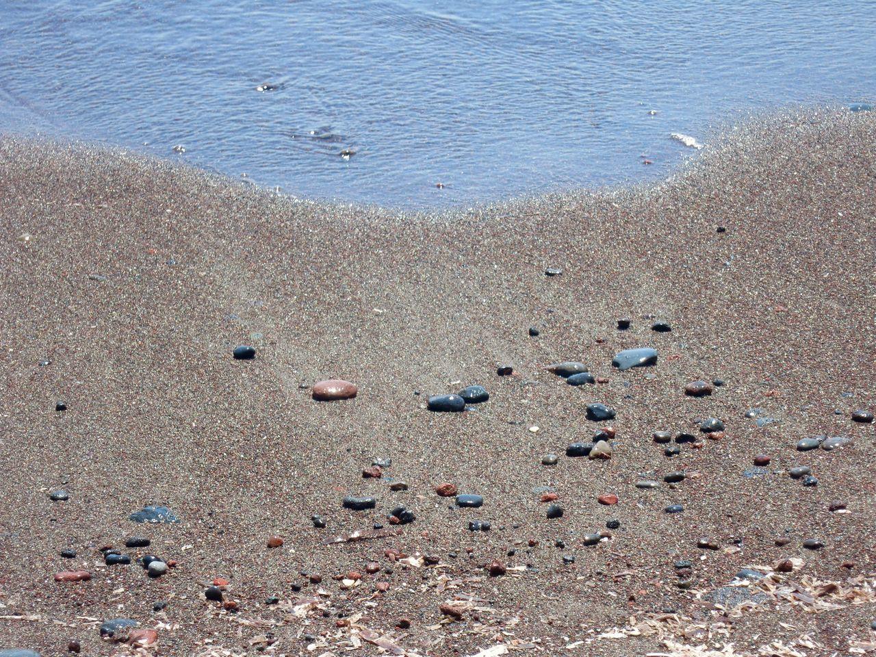 Beach Beauty In Nature Coastline Idyllic Nature Pebble Pebbles Sand Sea Shore Water The Essence Of Summer Sunlight Sunny