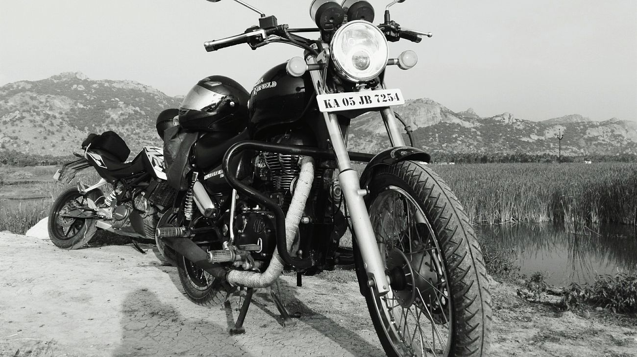Royalenfield Endlessroad Ride In Style Fortheloveofblackandwhite Royal Enfield..;-)