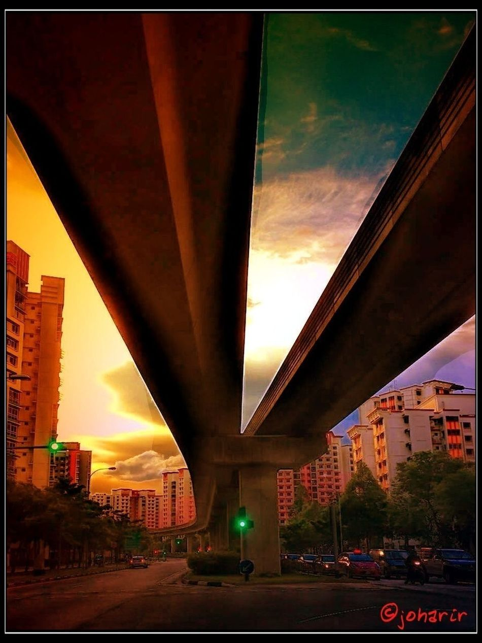 beneath the tracks Streetphotography Train Tracks #sunset #sun #clouds #skylovers #sky #nature #beautifulinnature #naturalbeauty #photography #landscape Show Us Your Thirty