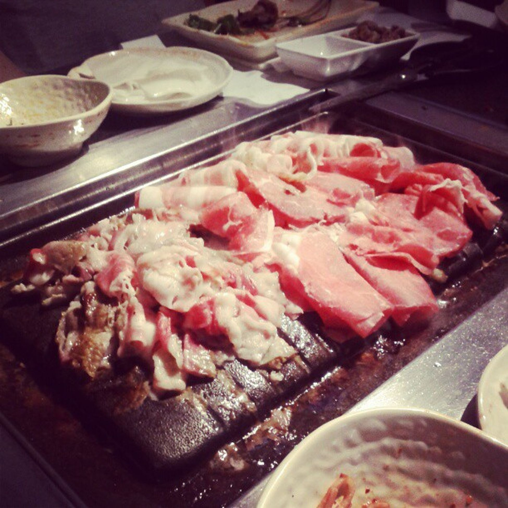 All you can eat Korean BBQ w/ brothers and @patthecap Keepthemeatcoming Ricepaper Stretchypants Foodcoma