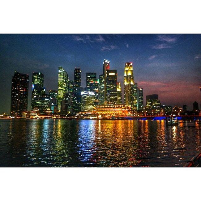 The Singapore Skyline. Photography Igers Instadaily