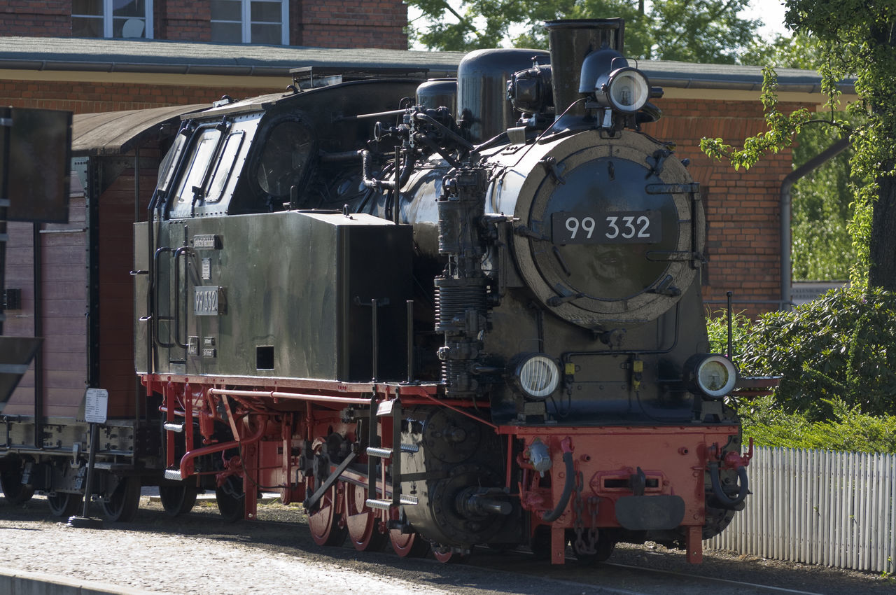 Bad Doberan Locomotive Old-fashioned Rasender Roland  Steam Locomotive Transportation Vintage