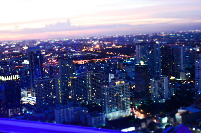 Aerial View Architecture Blue Built Structure Capital Cities  City City Life Cityscape Cloud Glowing Illuminated Landscape Light Modern Night Outdoors Sky Skyscraper