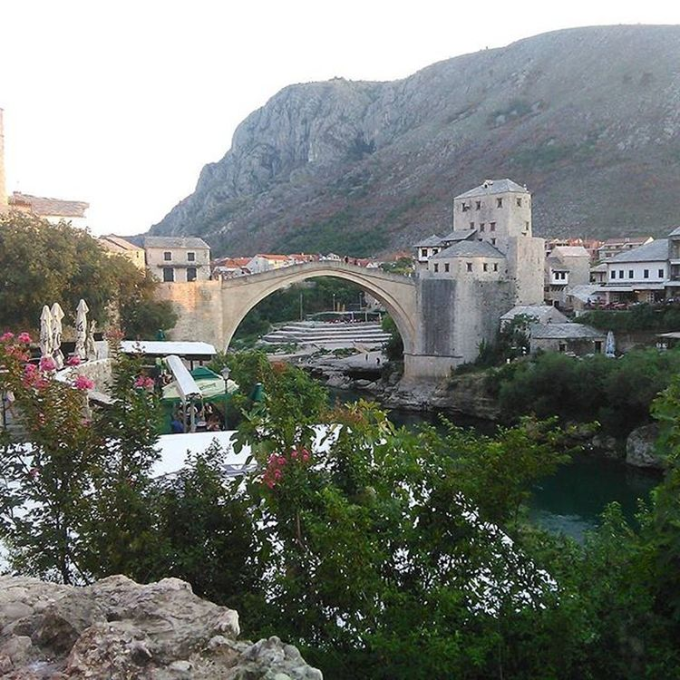 Oldbridge Mostar Bosnia Tourism Nature Visitbosnia Neretva