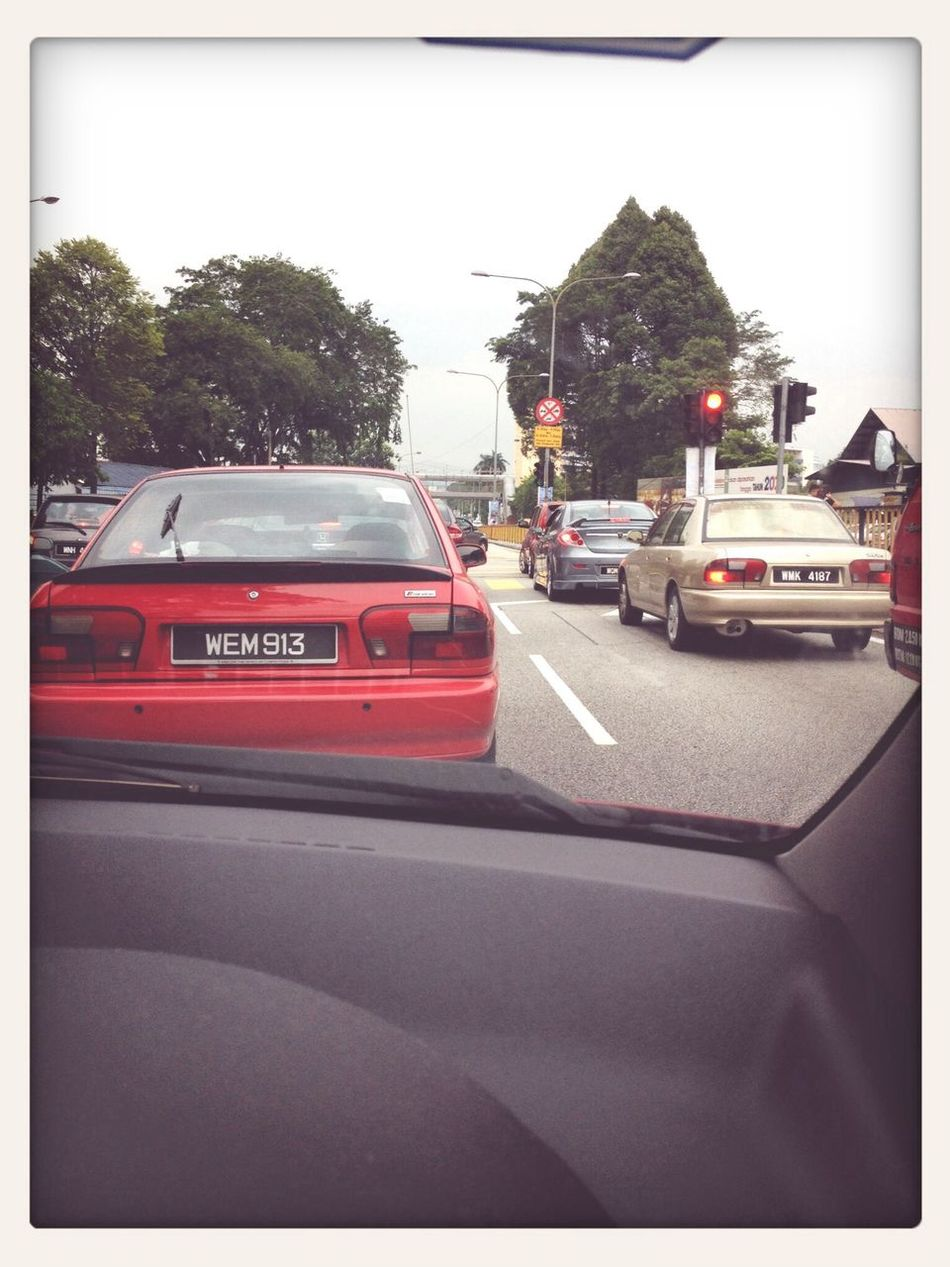 Life is not so simple. 1; When you have to go through traffic jams x( Traffic Jam