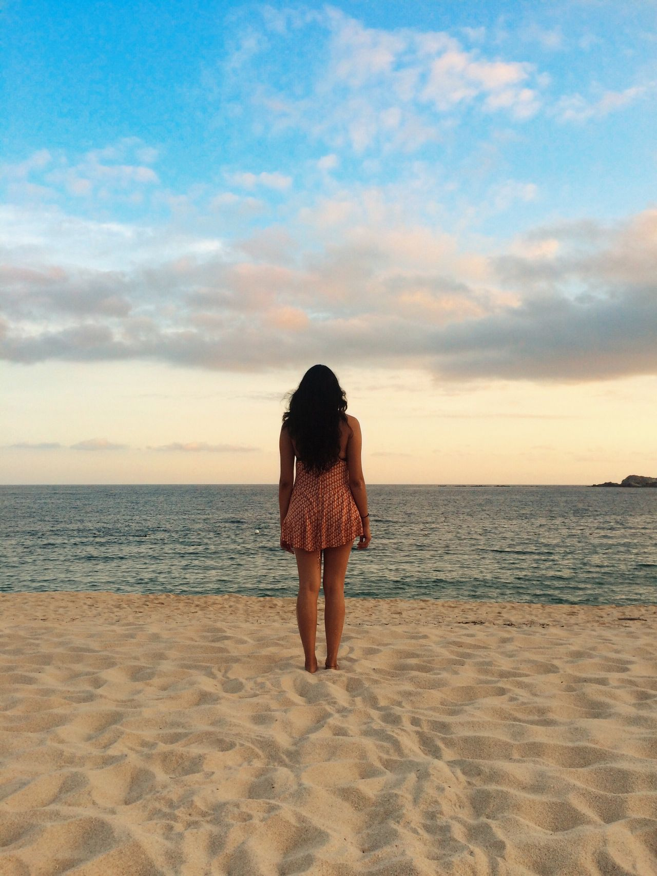 Bahía Chahue One Person Beach Sea Sky Nature Cloud - Sky Beauty In Nature Tranquility Horizon Over Water Tranquil Scene Lifestyles People Of EyeEm Vscophile EyeEm Best Edits EyeEm Best Shots EyeEm Nature Lover Eye4photography  Mexico VSCO Cam VSCO Vscogood