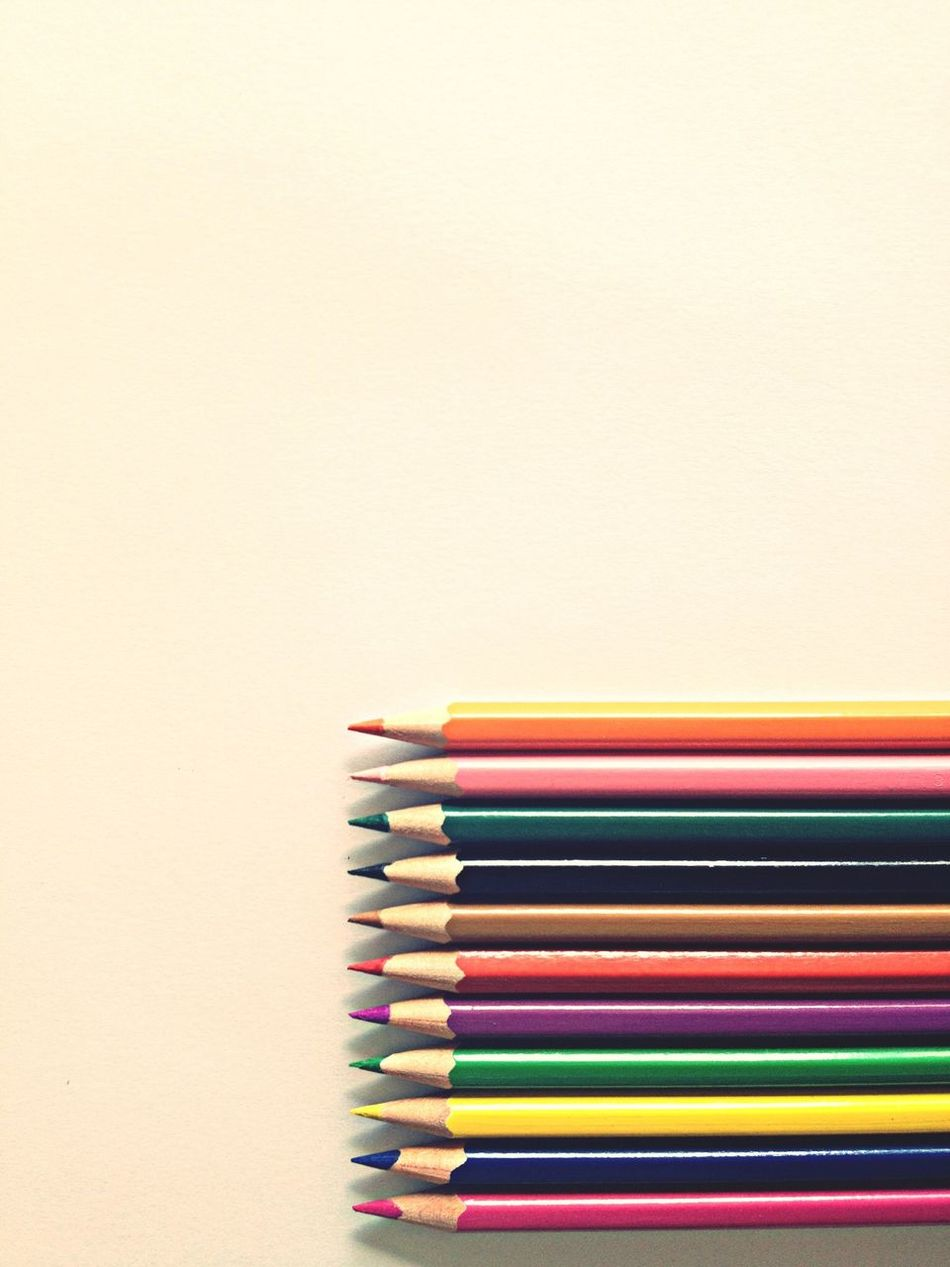Beautiful stock photos of pencil, Arrangement, Close-Up, Colored Pencil, Copy Space