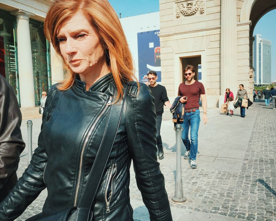 Avengers. Architecture Building Exterior Built Structure Lifestyles Portrait Street Standing Casual Clothing Person Long Hair Day Outdoors Focus On Foreground Mobilephotography Shootermag Mobile Photography NEM Street Youmobile
