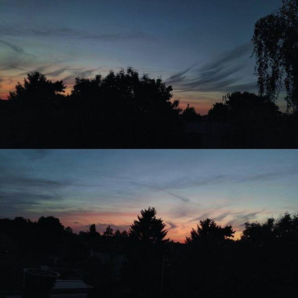 Der Himmel über Linn. Das sieht sooooooooooooooo schön aus. Linn Krefeld KrefeldLinn Himmel sky skyporn sunset sonnenuntergang