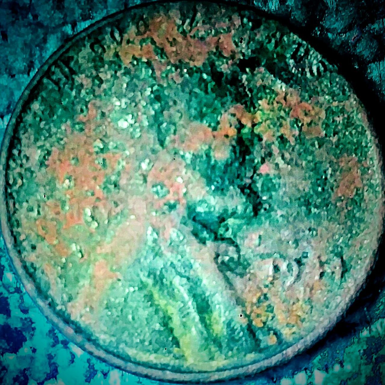 44 Copper Currency Penny Coin Abe 1944 Copper  Aged Metal 1¢