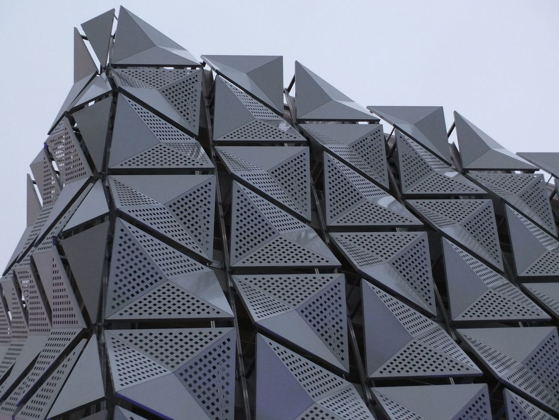 Geometric Architecture Buildings Ma