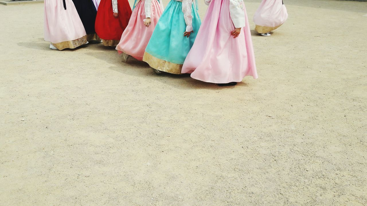 Skirts Traditional Clothing Traditional Costume Traditional Culture Korea South Korea Seoul Human Body Part Low Section Low Body Part Korean Traditional Clothes Korean Girls Festival Life Events People Street Photography Street Scenes EyeEm Best Shots Colors Of Life Hanbok Girls Young Women Young And Beautiful Travel Photography See The World Through My Eyes BYOPaper! The Photojournalist - 2017 EyeEm Awards The Street Photographer - 2017 EyeEm Awards